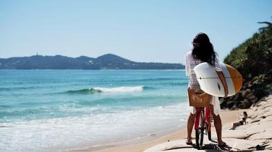 Our natural mineral cosmetics come from sunny Byron Bay