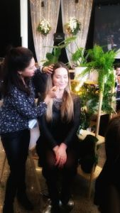 Putting 100% pure mineral makeup onto new zealand fashion week guests